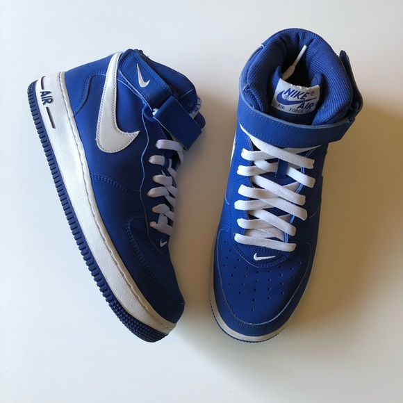 Nike Other - SOLD!! Nike Sport Royal MidTop Air Force 1